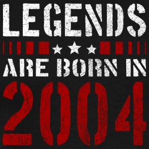 LEGENDS ARE BORN IN 2004 BIRTHDAY CHRISTMAS SHIRT - Männer Premium T-Shirt