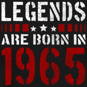 LEGENDS ARE BORN IN 1965 BIRTHDAY CHRISTMAS SHIRT - Männer Premium T-Shirt