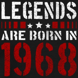 LEGENDS ARE BORN IN 1968 BIRTHDAY CHRISTMAS SHIRT - Men's Premium T-Shirt
