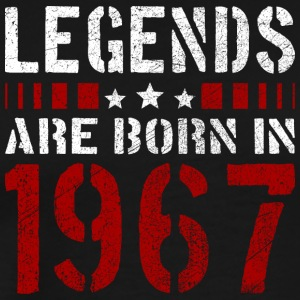 LEGENDS ARE BORN IN 1967 BIRTHDAY CHRISTMAS SHIRT - Männer Premium T-Shirt