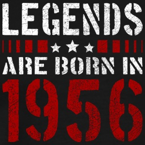 LEGENDS ARE BORN IN 1956 BIRTHDAY CHRISTMAS SHIRT - Männer Premium T-Shirt