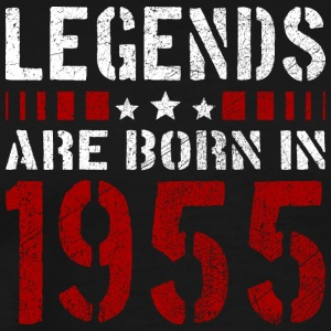 LEGENDS ARE BORN IN 1955 BIRTHDAY CHRISTMAS SHIRT - Männer Premium T-Shirt