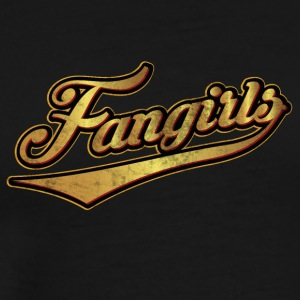Fangirls the motif for the Fangirl, Fans & Stalker - Men's Premium T-Shirt