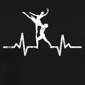 Heartbeats from the dancer Herzschlag dancer - Men's Premium T-Shirt
