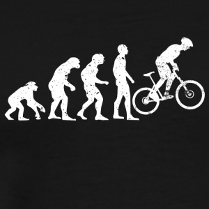 Evolution cycling mountain bike cycling - Men's Premium T-Shirt