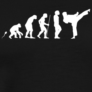Karate kick - Men's Premium T-Shirt