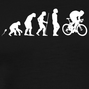 Road cyclist sprint - Men's Premium T-Shirt