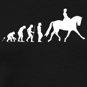 horse riding - Men's Premium T-Shirt