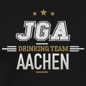 Bachelor Party JGA Aachen Drinking Team - Men's Premium T-Shirt