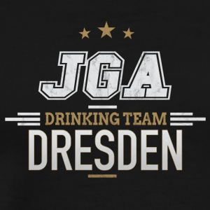 Bachelor Party JGA Dresden Drinking Team - Men's Premium T-Shirt
