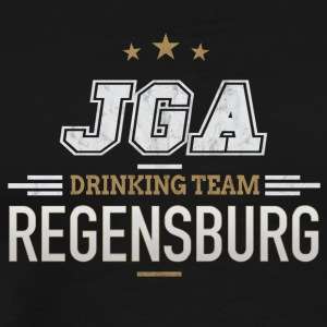 Bachelor JGA Regensburg Drinking Team - Premium T-skjorte for menn