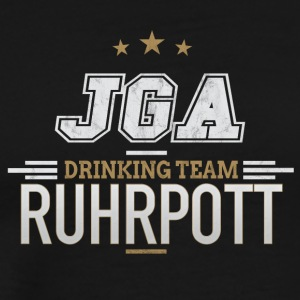Bachelor Party JGA Ruhrpott Drinking Team - Men's Premium T-Shirt