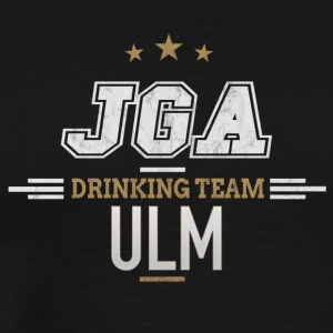 Bachelor Party JGA Ulm Drinking Team - Men's Premium T-Shirt