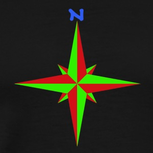 Windrose / compass rose / compass / compass - Men's Premium T-Shirt