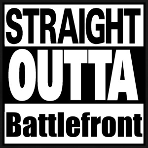 Straight outta Battlefront - Men's Premium T-Shirt