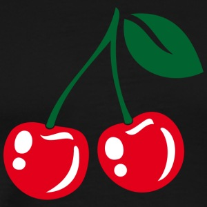 Cherries - Männer Premium T-Shirt
