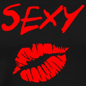 sexy lips - Men's Premium T-Shirt