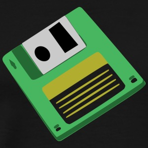 diskette - Men's Premium T-Shirt
