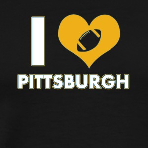 I love Pittsburgh - Männer Premium T-Shirt