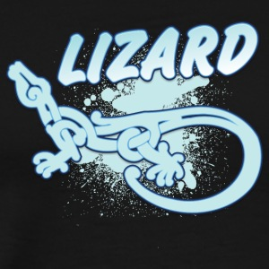 Cool tribal lizard - Mannen Premium T-shirt