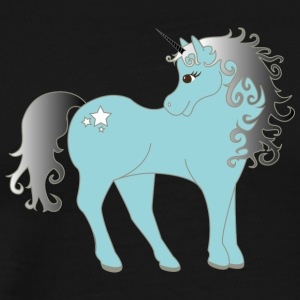 blue Unicorn - T-shirt Premium Homme
