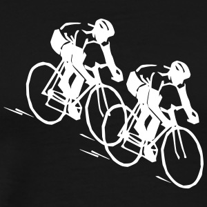 Road racing cyclist - Men's Premium T-Shirt