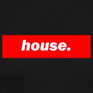 techno mixer red bass bpm house - Men's Premium T-Shirt
