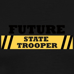 Politiet: Future State Trooper - Premium T-skjorte for menn
