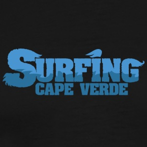 CAPE VERDE Surfing Water Country - Premium T-skjorte for menn