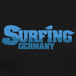 TYSKLAND Surfing Water Country - Premium T-skjorte for menn