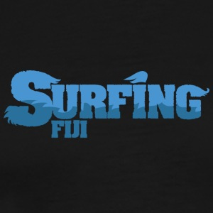 FIJI Vann Surfing Land - Premium T-skjorte for menn