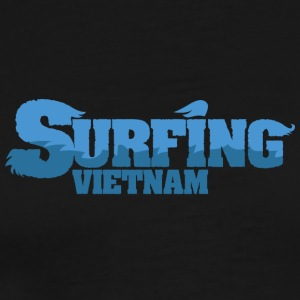 VIETNAM Surfing Water Country - Premium T-skjorte for menn