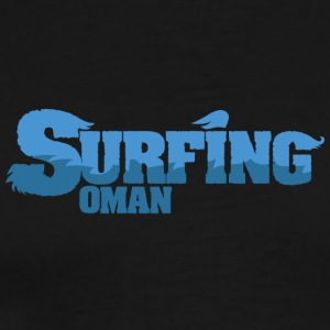 OMAN Surfing Water Country - Premium T-skjorte for menn
