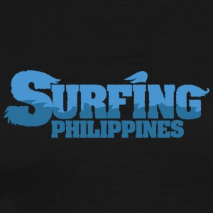 FILIPPINENE Surfing Water Country - Premium T-skjorte for menn