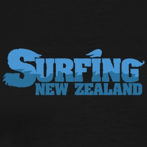 NEW ZEALAND Surfing Country Water - Men's Premium T-Shirt