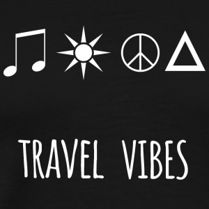 Travel vibes - Men's Premium T-Shirt