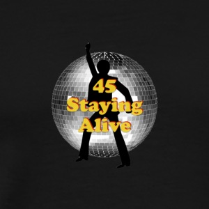 staying alive logo - Men's Premium T-Shirt