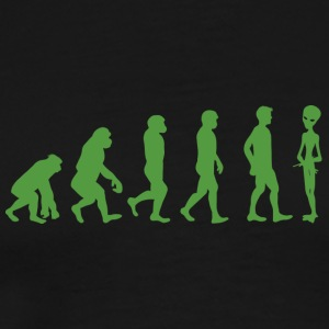 Alien / Area 51 / UFO: Evolution - Monkey - mann - - Premium T-skjorte for menn