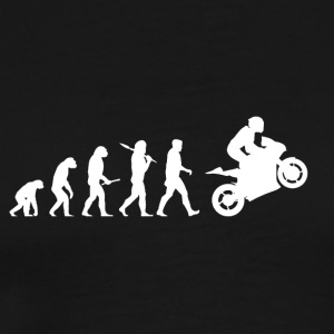 Evolution Motorcycle Bike Funny Gift Christmas - Men's Premium T-Shirt