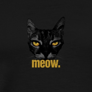 meow. chat - T-shirt Premium Homme