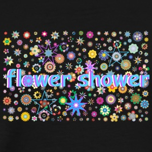 flower shower - Männer Premium T-Shirt