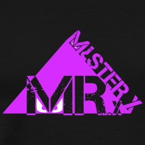 MR X-purple - Men's Premium T-Shirt