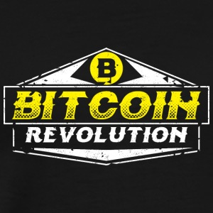Bitcoin Crypto Digital Currency - Men's Premium T-Shirt