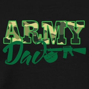 Military / Soldiers: Army Dad - Men's Premium T-Shirt