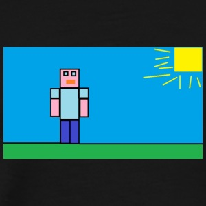 tetu_minecraft - Men's Premium T-Shirt