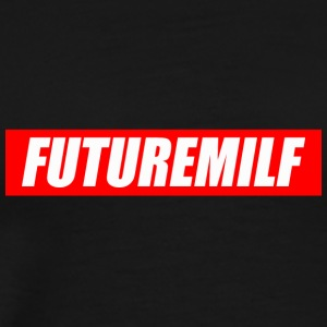 futuremilf graviditet - Premium T-skjorte for menn