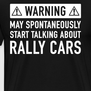 Funny Rally Car Gift Idea - Men's Premium T-Shirt