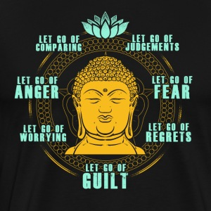 Buddha meditation shirt - Men's Premium T-Shirt