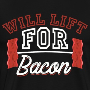 Will Lift For Bacon - Men's Premium T-Shirt