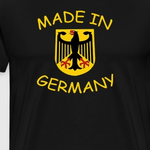 """Made in Germany"" - Premium T-skjorte for menn"